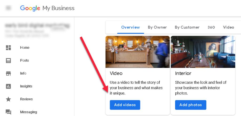gym google my business